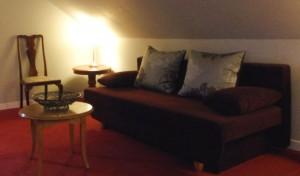 Gemütliches Sofa zum Entspannen